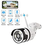 Security Camera, Arespark Outdoor Wireless Security Camera, FHD 1080P Waterproof WiFi IP Camera, Wide Angle Wireless Wifi Camera Home Surveillance Bullet Camera With Motion Detection, Night Version, Install Tool
