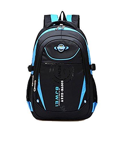 School Backpack For Boys Kids Elementary School Bags Bookbag Blue