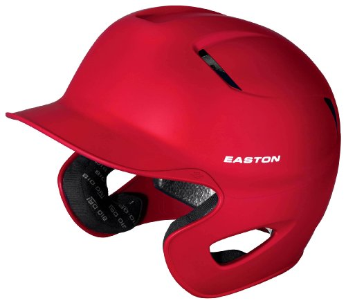 Easton Stealth Grip Batting Helmet, Red by Easton