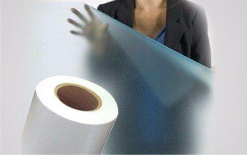 Adesivo Jateado para Vidro - Box, Janelas e Portas - 2,5 x 1 m (Jateado, 2,5 x 1 m)