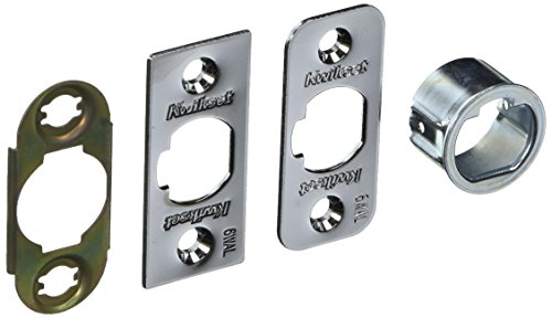 Latch Deadlatch - Kwikset Corporation 6WAL DL 26D SERV KIT 6-Way Dead Latch Service Kit in Satin Chrome