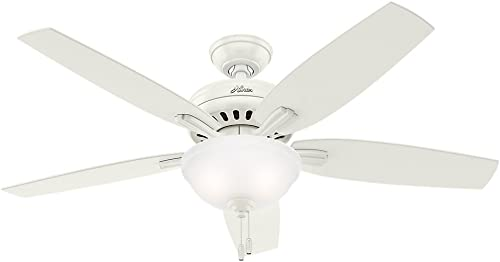 Hunter Fan Company 53310 Ceiling Fan, 52 , Fresh White