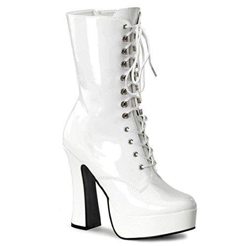 Pleaser - Botas para mujer blanco