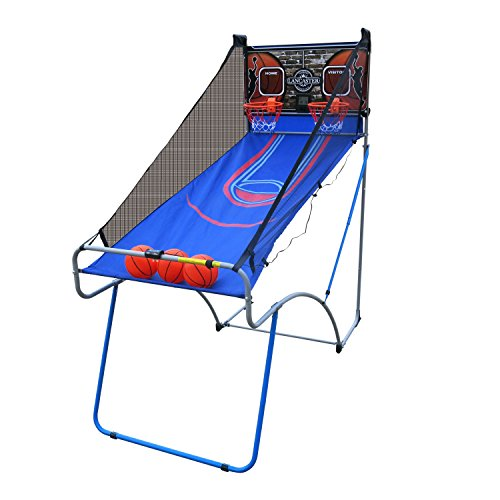 Lancaster Sports EZ-Fold 2 Player Indoor Traditional Arcade Basketball Game (Indoor Arcade Basketball)