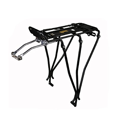 Aluminum Alloy Bicycle Front Rack Luggage Panniers Bracket - 9