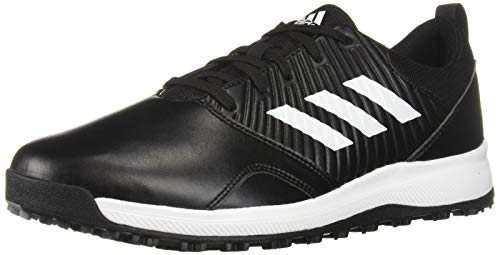 adidas Men's CP Traxion SL Golf Shoe core Black/FTWR White/Silver Metallic 11 M US