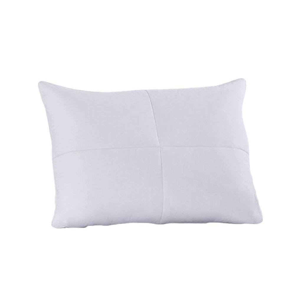 Royal Hotel Soft Goose Feathers and Goose Down Pillow - 240 Thread Count Cotton Shell, Standard/Queen Size, Soft, 1 Single Pillow