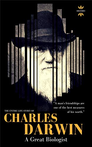 c92aef2eb1a0 Amazon.com  CHARLES DARWIN  A Great Biologist. The Entire Life Story ...