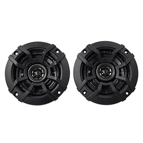 4in Speaker - Kicker 43CSC44 CSC4 4-Inch Coaxial Speakers - 4-Ohm