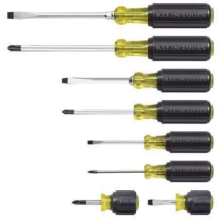 Klein 85078 8-Piece Screwdriver Set by Klein