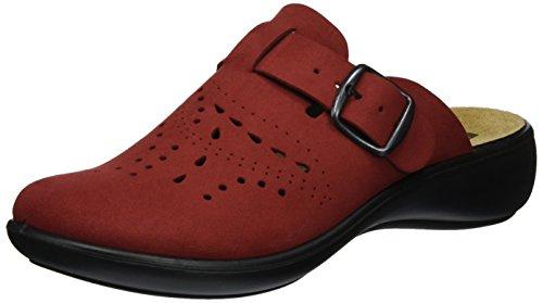 Romika Ibiza Home 315 - Zapatillas de casa Mujer rojo (rojo)