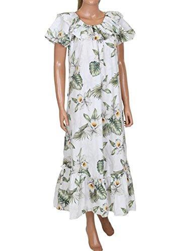 Made in Hawaii! Women's Hibiscus Floral Hawaiian Aloha Muumuu Dress