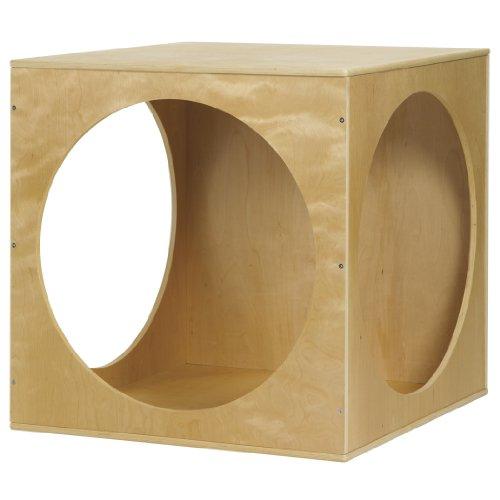 ECR4Kids Birch Hardwood Playhouse Cube by ECR4Kids