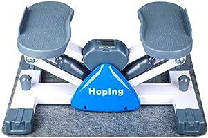 [终身保証] 健康ステッパー 室内運動器具 すてっぱー ステップ器具 ウォーキングマシン 健康器具 歩行運動 有酸素運動 踏み台昇降 ステップ台 山登り感覚 脂肪燃焼 mini 3d マットは無料にて提供させていただきます