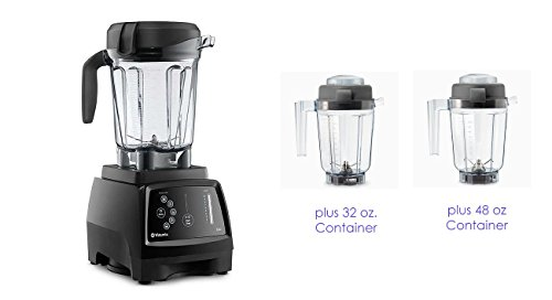 Vitamix G-Series 780 Black Home Blender with Touchscreen Control Panel (64 +32 oz. DRY + 48 oz. WET)