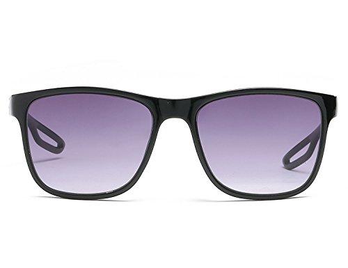 Classique pour Lunettes Eyewear Bmeigo Lunettes UV400 Femme Protection Carré 01 Mode soleil Black avec de Unisex pour Homme gxgYCP