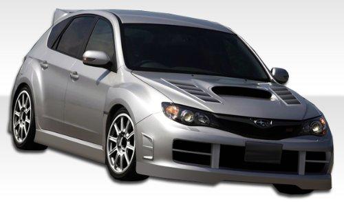 2008-2010 Subaru STI 5DR Duraflex GT Concept Kit - Includes GT Concept Front Bumper (104669), GT Concept Sideskirts (104670), GT Concept Rear Bumper (104671), GT Concept Fenders (104672), GT Concept Wing (104658), GT Concept Hood (104656) - Duraflex Body Kits