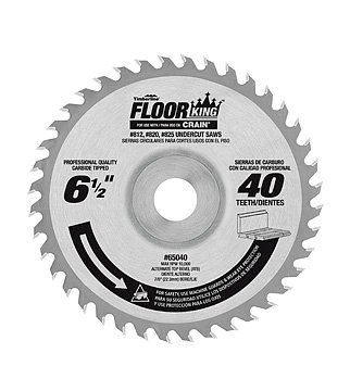 - TIMBERLINE FLOOR KING SAW BLADE 65040 - five pack - USE W/CRAIN (812,820,825) (Circular Saw)