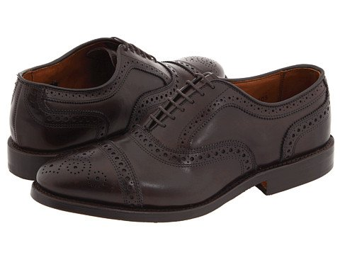 Allen Edmonds Men's Strand Cap Toe Oxford 11 D(M) Men 6105 Brown Oxfords Shoes