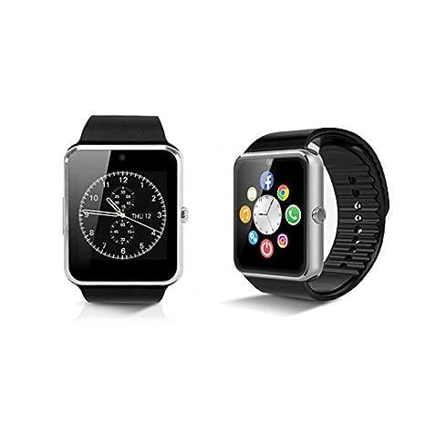 Mediatec Smartwatch con Bluetooth para Android iOS color ...