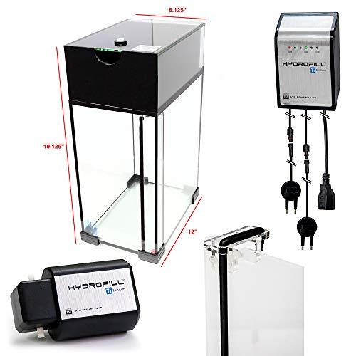 Innovative Marine Hydrofill Ti ATO Pro Kit - 5 Gallon Reservoir, Controller, Pump, Acrylic Return Bracket (Ti Reverse Osmosis)