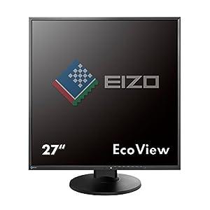 """EIZO FlexScan EV2730QFX 26.5"""" Square IPS Monitor 1920x1920 (EV2730QFX-BK) from EIZO Inc."""