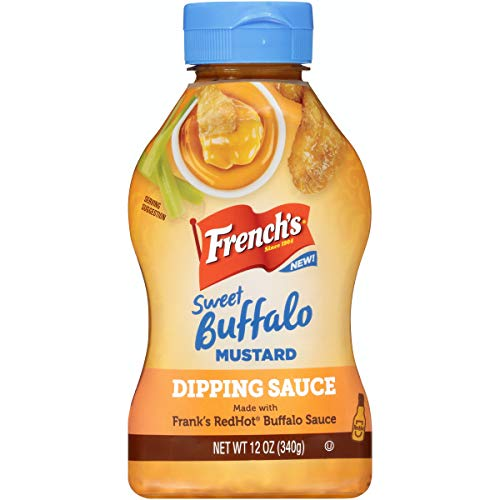 French's Sweet Buffalo Mustard Dipping Sauce, 12 Ounce (Pack of 8)