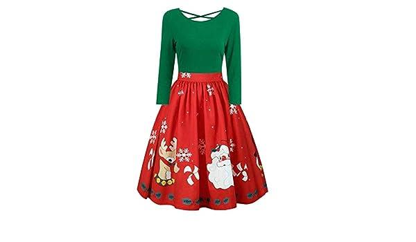 Women Dresses Godathe Womens Fashion Long Sleeve Plus Size Christmas Print Criss Cross Party Dress XL-5XL at Amazon Womens Clothing store: