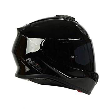 Nitro N3100/Uno Full Face casque de moto/ /occultant Noir brillant
