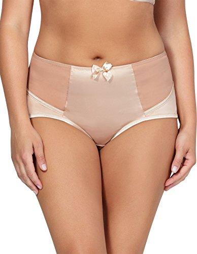 Parfait 6917 Women's Charlotte True Nude Full Panty Highwaist Brief XLGE
