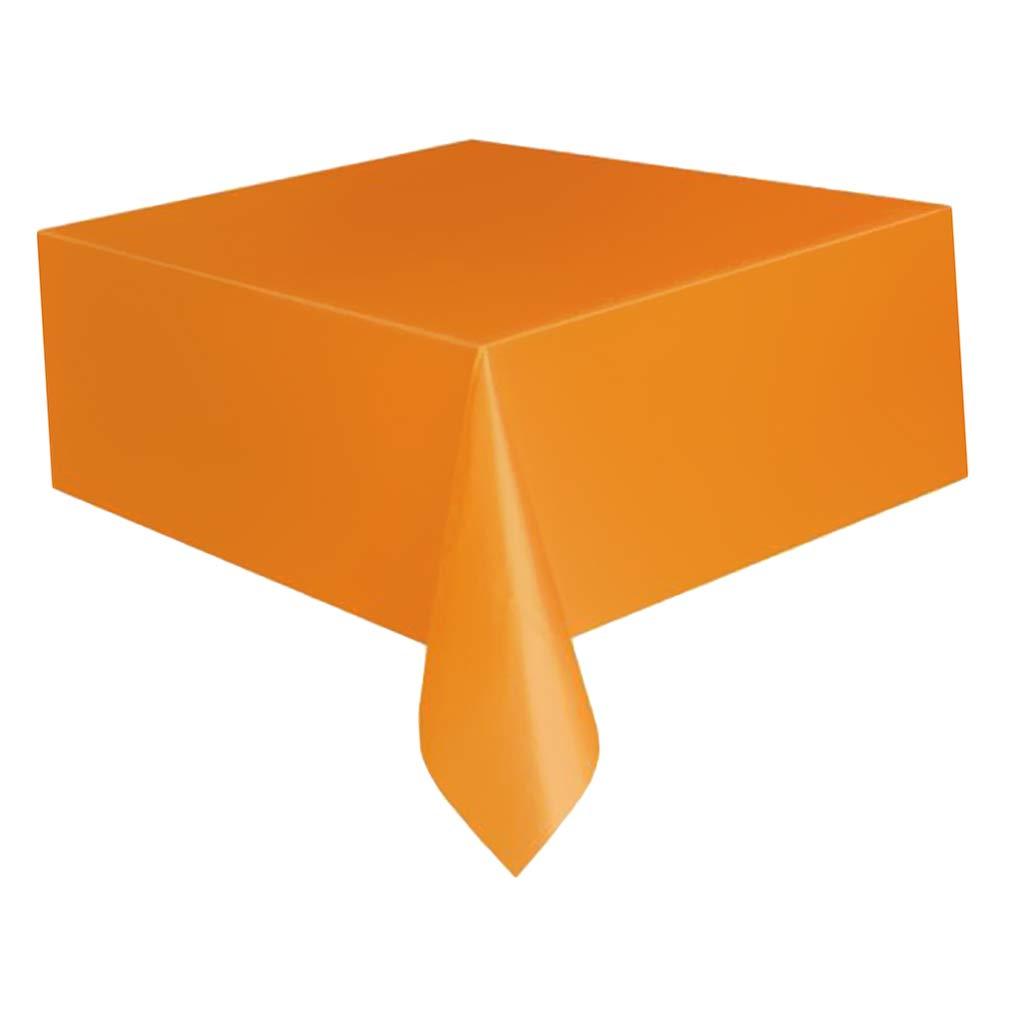 Amarillo SM SunniMix Fundas de Muebles Patio Cubierta de Mesa Pl/ástico Suministros de Construcci/ón Hogar
