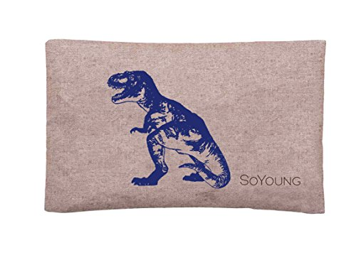 (SoYoung Ice Pack - Adults - Kids - Lunch Boxes - Coolers - Backpacks - Eco-Friendly - Non-Toxic - Blue Dinosaur)