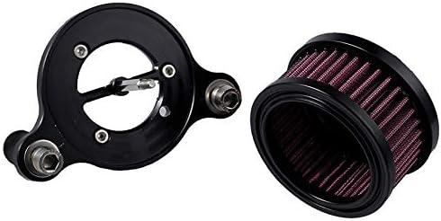 Fanuse Filtre DAdmission de Filtre /à Air de Moto pour Sportster XL 883 1200 2004