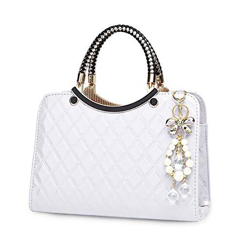 TIBES Leather Handbags Shoulder Satchel product image