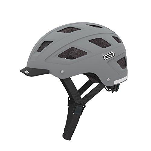 ABUS Adult's Cycling Helmet Hyban grey concrete grey Size:58-63 cm