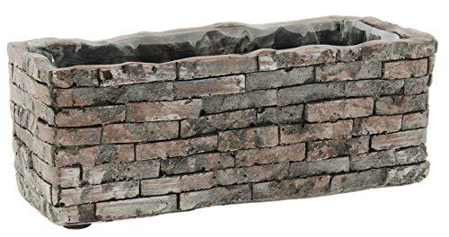 (Decorative Cement Rectangular Planter 7