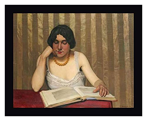 Reader with a Yellow Necklace by Felix Vallotton - 18
