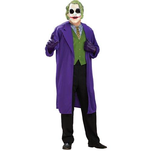 [The Joker Costume - Plus Size - Chest Size 46-50] (Plus Size Batman Costumes)