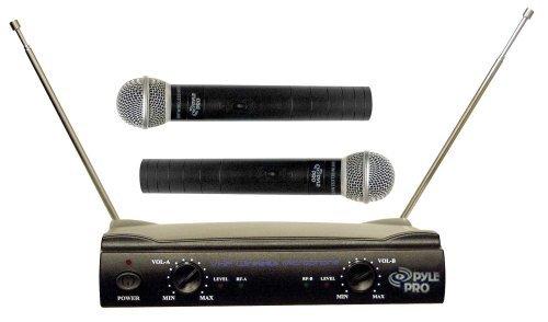 Pdwm2500 Dual Vhf Wireless Microphone - PYLE PRO PDWM2500 Dual VHF Wireless Microphone System