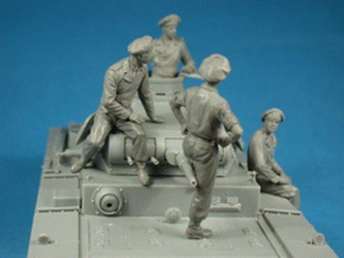 Miniart 1:35 - German Tankcrew (france 1940) by MiniArt (Image #3)