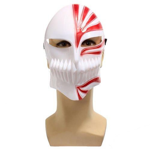 Cosplay Masque - Szs Halloween Props Bleach Cosplay Ichigo Kurosaki Bankai Masque De Partie Mascarade - Masquerade Mask Bleach Masque Halloween Party Masks Mask Figure Ichigo Bleach -
