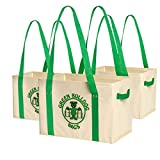 Best Glad Grocery Bags - Super Strong, Reusable and Collapsible Large Grocery Bags Review