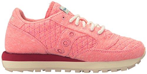 Saucony zapatos zapatillas de deporte mujer en ante nuevo jazz original naranja Rosa