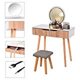 Joykith Dressing Table Set, Dressing Table with