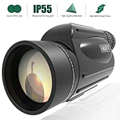 Emarth High Power 10-30X50 Zoom Monocular Telescope BAK4 Prism Waterproof Fog Proof Men Gifts For Bird Watching Camping Hunting Wildlife Traveling A fun gift idea for Christmas Advantages and Key Features Powerful zoom magnification range tha...