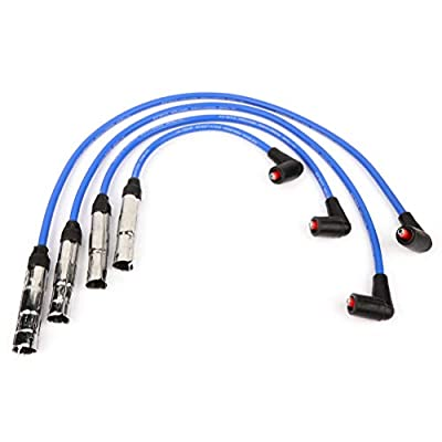 Ineedup Spark Plug Wire Sets Fit for Volkswagen Beetle/Golf/Jetta 1998-2014 Replacement for OE: 57041: Automotive