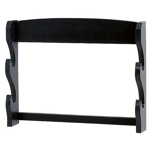 (Two Tier Sword Display Wall Rack)