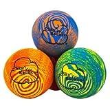 "Sky Bounce® Balls Rainbow Color Rubber Handball For Recreational Handball (Hand Ball), Stickball, Racquetball, Catch, Fetch, and Many More Games 2 1/4"" Diameter Premium Hollow Rubber (Pack of 12)"
