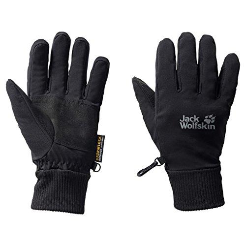 Jack Wolfskin Storm Lock Supersonic XT Gloves, X-Small, Black 2010 Mens Snowboard Gloves
