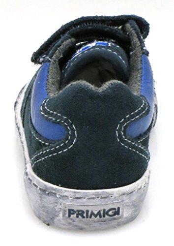 Primigi Zapatillas Zapato De Niño Zapatos Zapatillas De Niño Zapatillas De Cuero Zapatos Piel Azul Oscuro